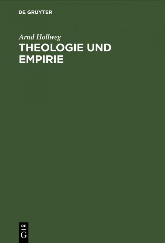 Cover-Bild Theologie und Empirie