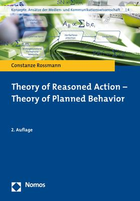 Cover-Bild Theory of Reasoned Action - Theory of Planned Behavior