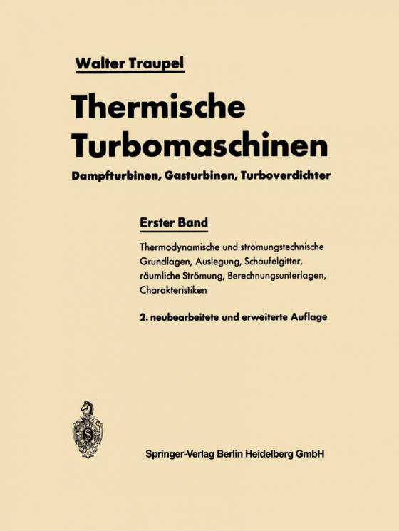 Cover-Bild Thermische Turbomaschinen