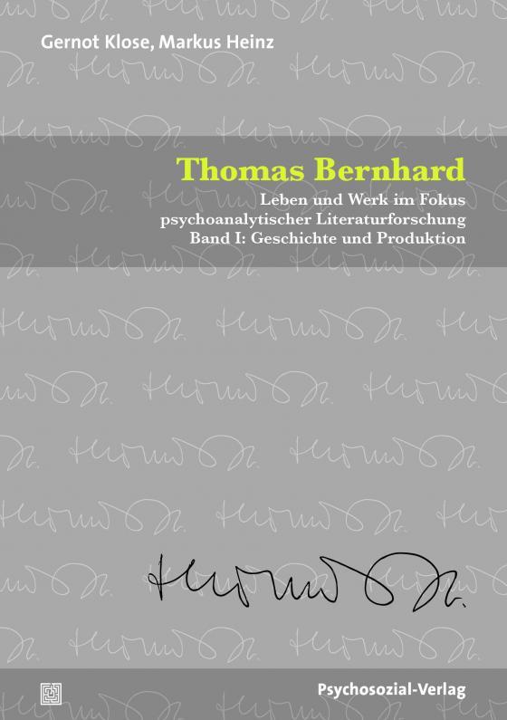 Cover-Bild Thomas Bernhard