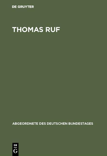 Cover-Bild Thomas Ruf