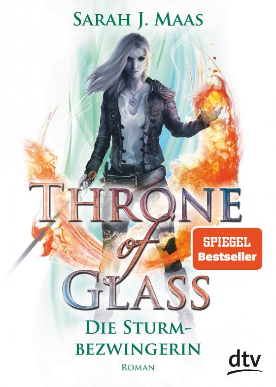 Cover-Bild Throne of Glass 5 – Die Sturmbezwingerin
