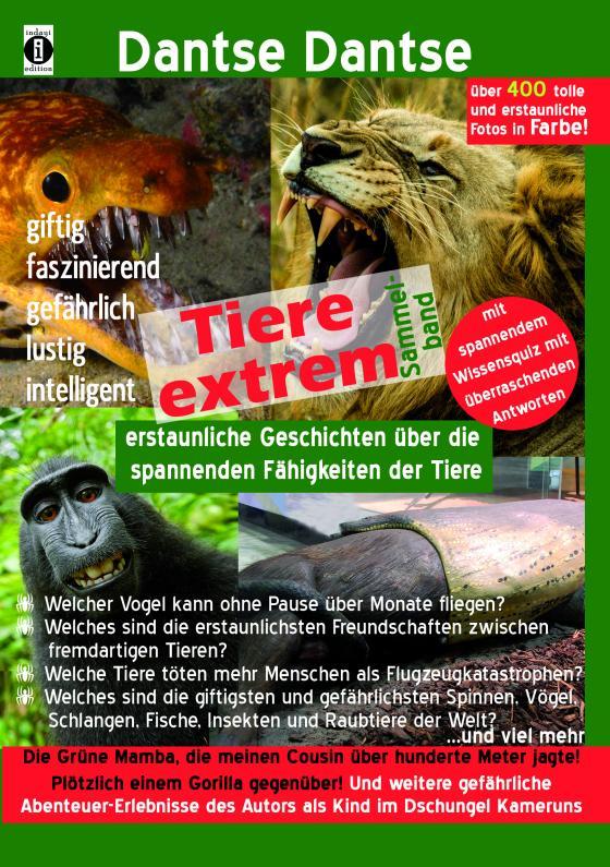 Cover-Bild Tiere extrem! Der Sammelband: Gejagt von einer Grünen Mamba! & Plötzlich einem Gorilla gegenüber! (farbig)
