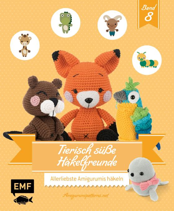 Cover-Bild Tierisch süße Häkelfreunde 8