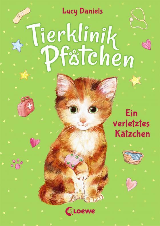 Cover-Bild Tierklinik Pfötchen 1 - Ein verletztes Kätzchen