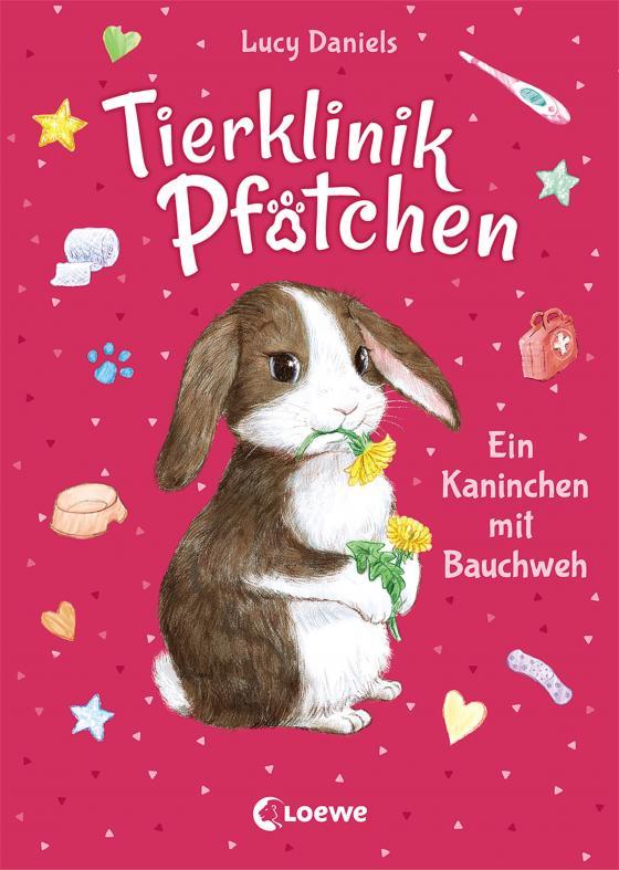 Cover-Bild Tierklinik Pfötchen 2 - Ein Kaninchen mit Bauchweh
