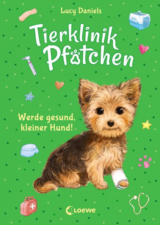 Cover-Bild Tierklinik Pfötchen 5 - Werde gesund, kleiner Hund!