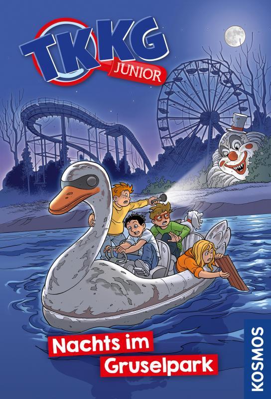 Cover-Bild TKKG Junior, 7, Nachts im Gruselpark