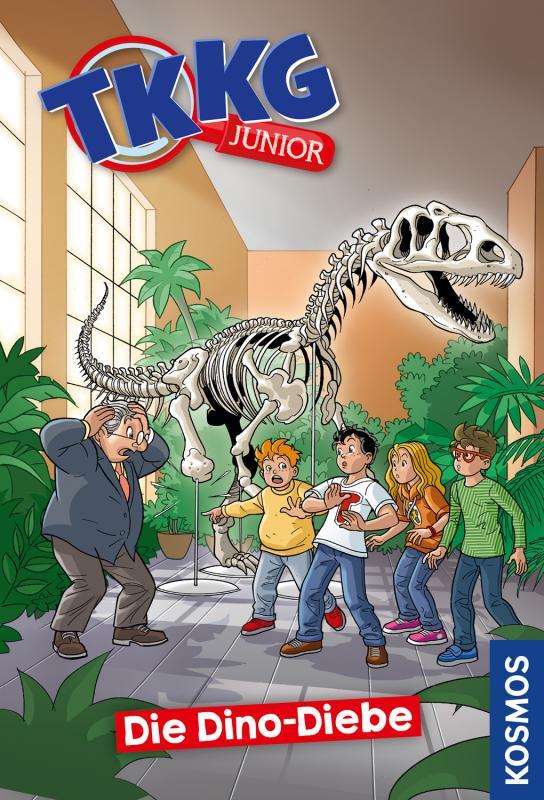 Cover-Bild TKKG Junior, 8, Die Dino-Diebe