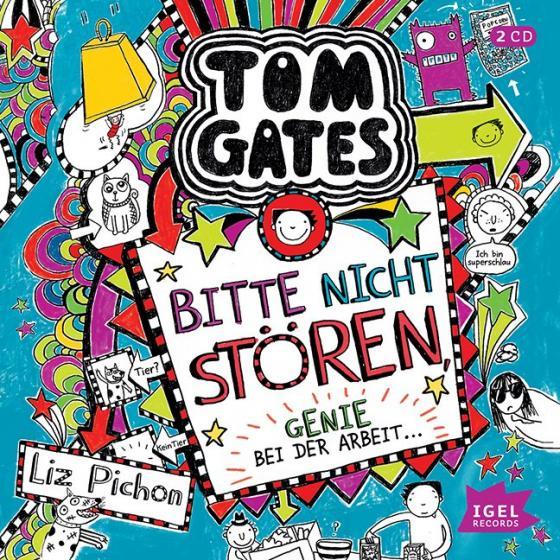 Cover-Bild Tom Gates. Bitte nicht stören, Genie bei der Arbeit