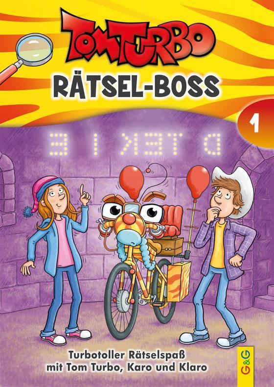 Cover-Bild Tom Turbo - Rätsel-Boss 1