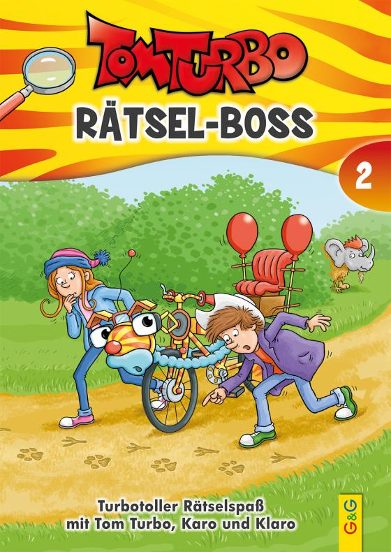 Cover-Bild Tom Turbo - Rätsel-Boss 2
