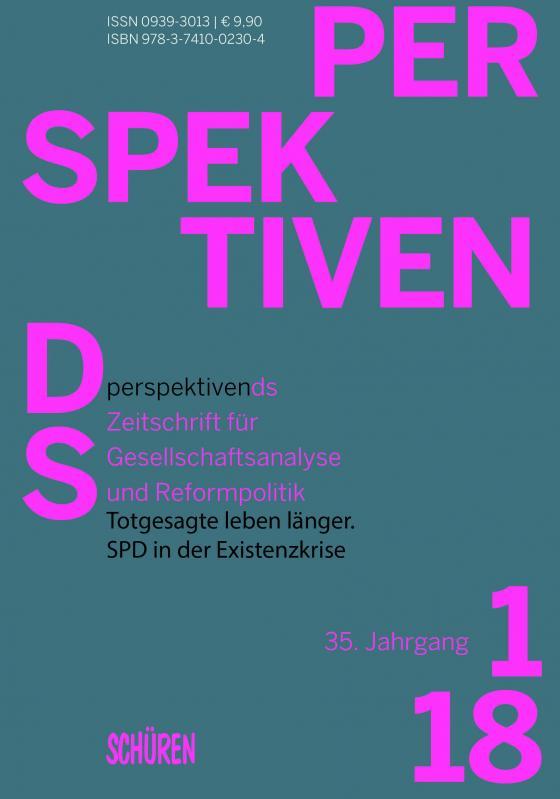 Cover-Bild Totgesagte leben länger. SPD in der Existenzkrise