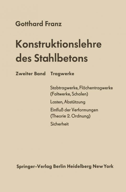 Cover-Bild Tragwerke