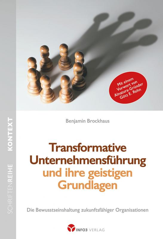 Cover-Bild Transformative Unternehmensführung und ihre geistigen Grundlagen