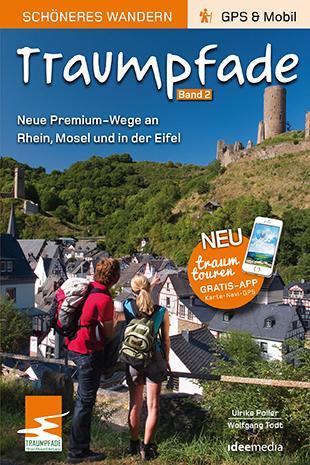 Cover-Bild Traumpfade 2 - Pocket: Aktuelle Premium-Rundwege an Rhein, Mosel und in der Eifel