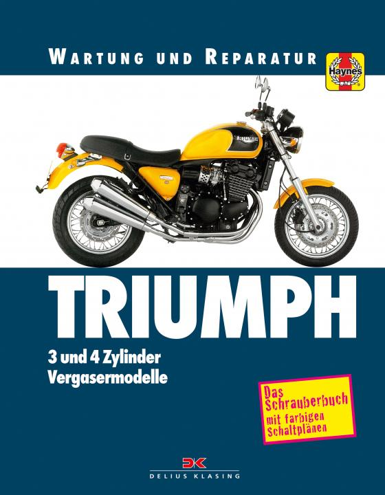 Cover-Bild Triumph 3- und 4-Zylinder