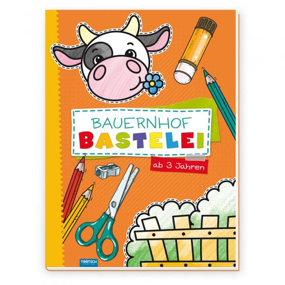 Cover-Bild Trötsch Bastelbuch Bauernhof Bastelei