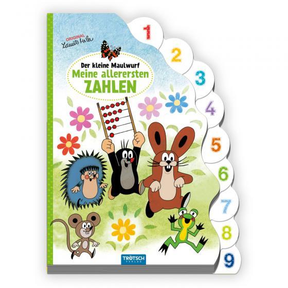 Cover-Bild Trötsch Der kleine Maulwurf Pappbilderbuch mit Register Meine allerersten Zahlen