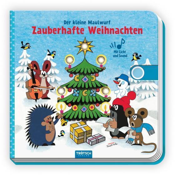 Cover-Bild Trötsch Der kleine Maulwurf Soundbuch mit Licht Zauberhafte Weihnachten