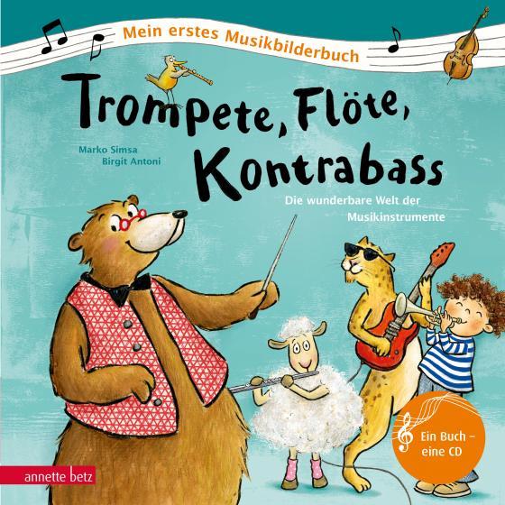 Cover-Bild Trompete, Flöte, Kontrabass