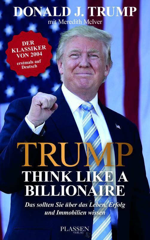 Cover-Bild Trump: Think like a Billionaire