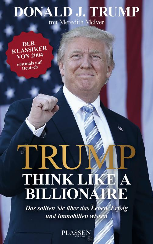 Cover-Bild Trump: Think like a Billionaire