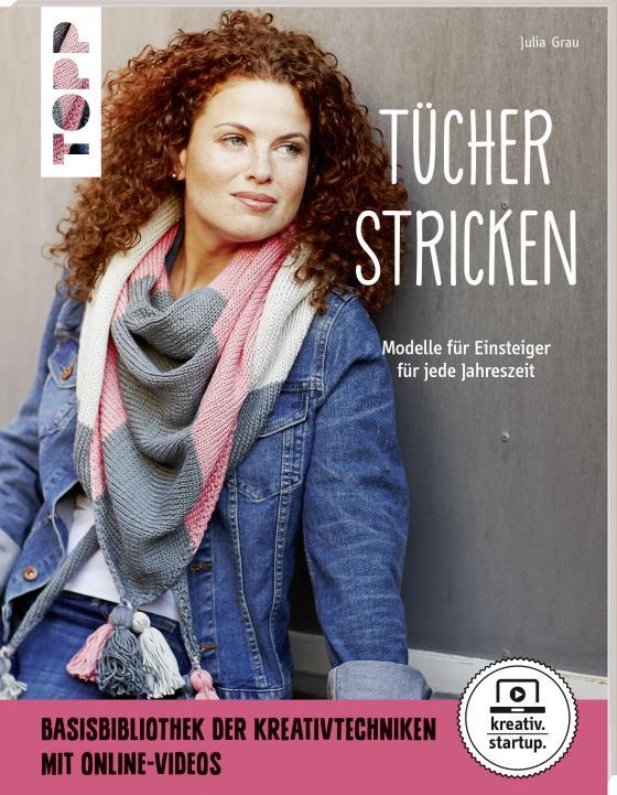 Cover-Bild Tücher stricken (kreativ.startup.)