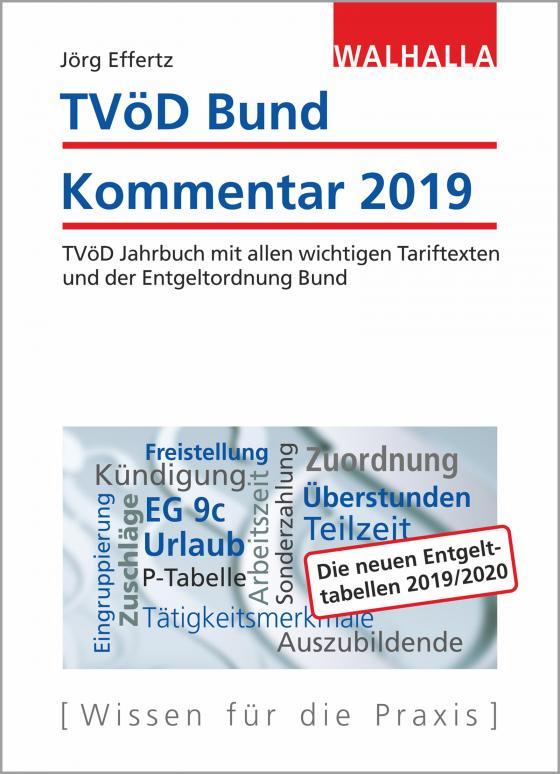 Cover-Bild TVöD Bund Kommentar 2019