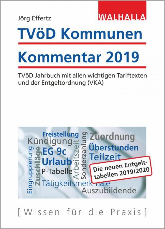 Cover-Bild TVöD Kommunen Kommentar 2019