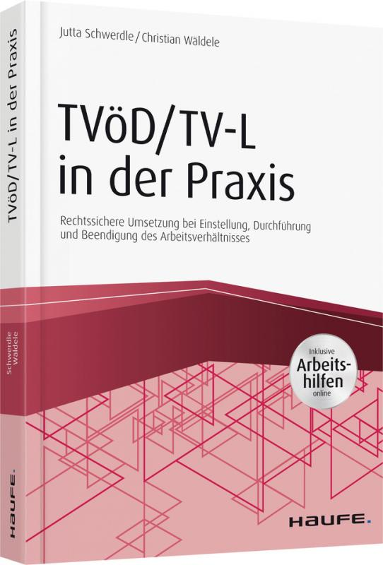 Cover-Bild TVöD/TV-L in der Praxis - inkl. Arbeitshilfen online