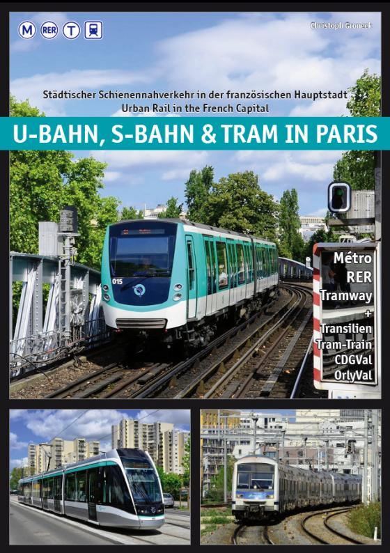 Cover-Bild U-Bahn, S-Bahn & Tram in Paris
