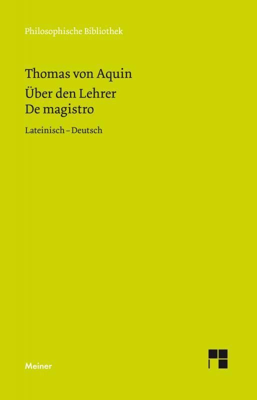 Cover-Bild Über den Lehrer