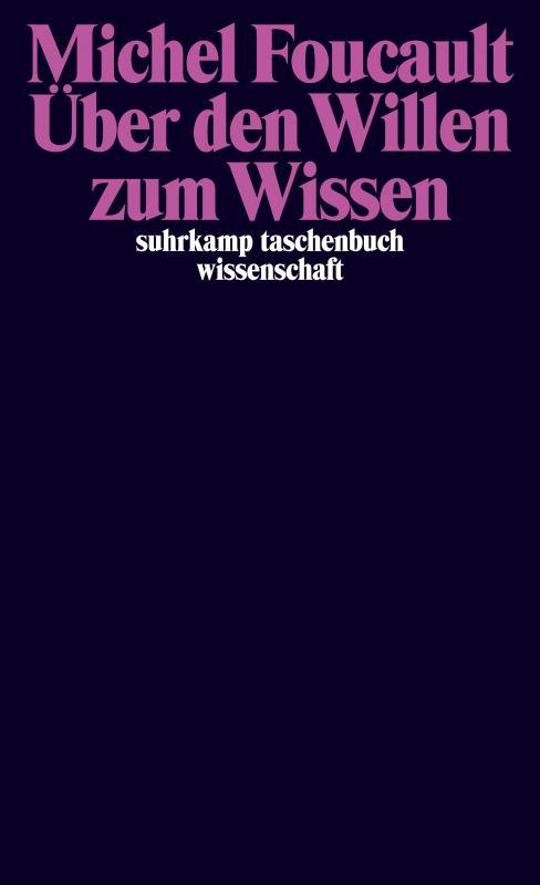 Cover-Bild Über den Willen zum Wissen