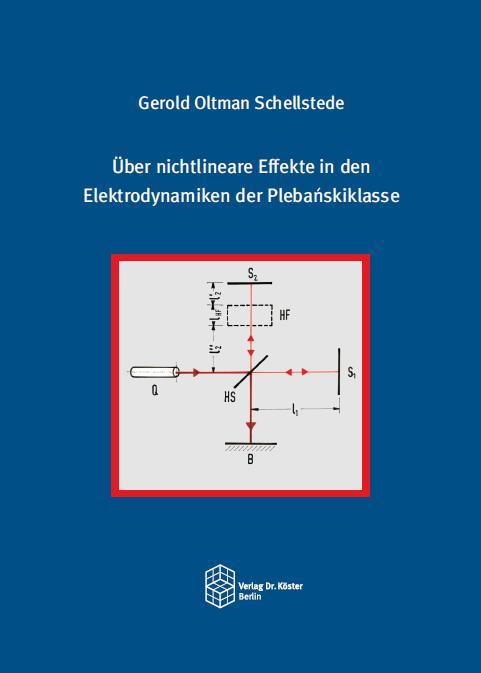Cover-Bild Über nichtlineare Effekte in den Elektrodynamiken der Plebańskiklasse
