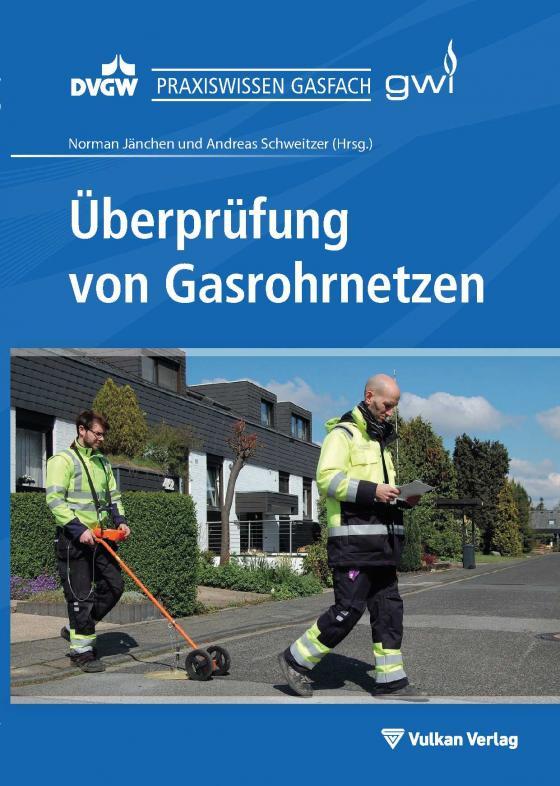 Cover-Bild Überprüfung von Gasrohrnetzen