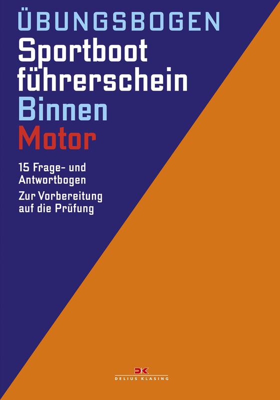 Cover-Bild Übungsbogen Sportbootführerschein Binnen - Motor