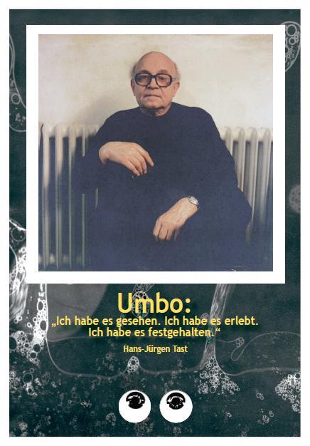 """Cover-Bild Umbo: """"Ich habe es gesehen"""""""