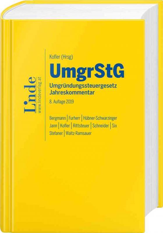 Cover-Bild UmgrStG | Umgründungssteuergesetz 2019