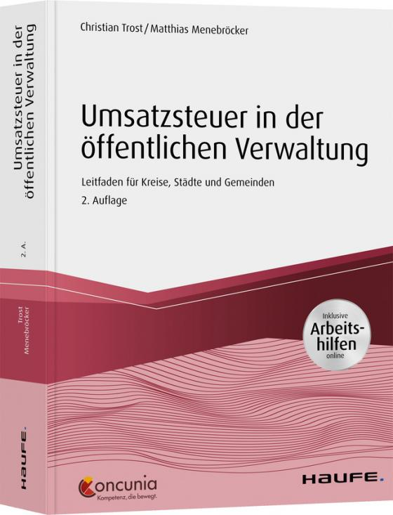 Cover-Bild Umsatzsteuer in der öffentlichen Verwaltung - inkl. Arbeitshilfen online