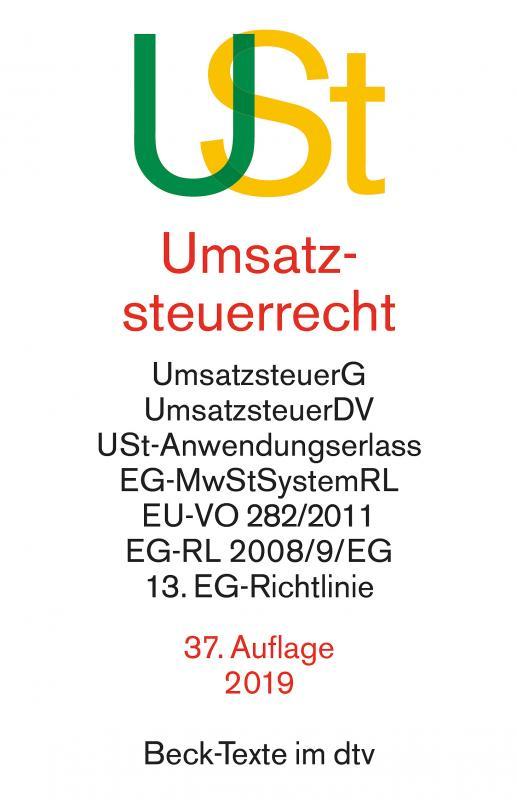 Cover-Bild Umsatzsteuerrecht