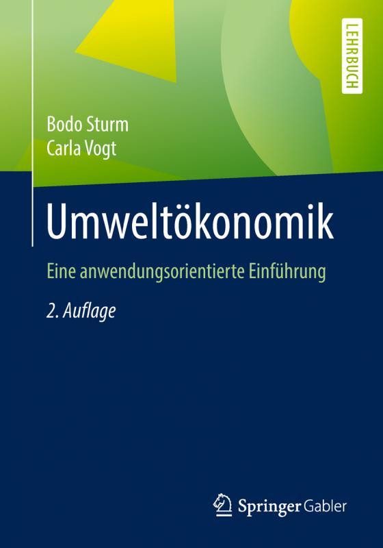 Cover-Bild Umweltökonomik