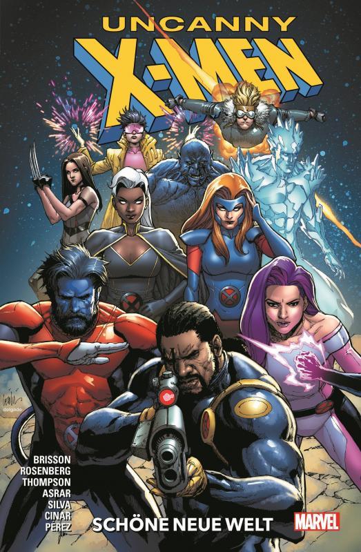 Cover-Bild Uncanny X-Men - Neustart