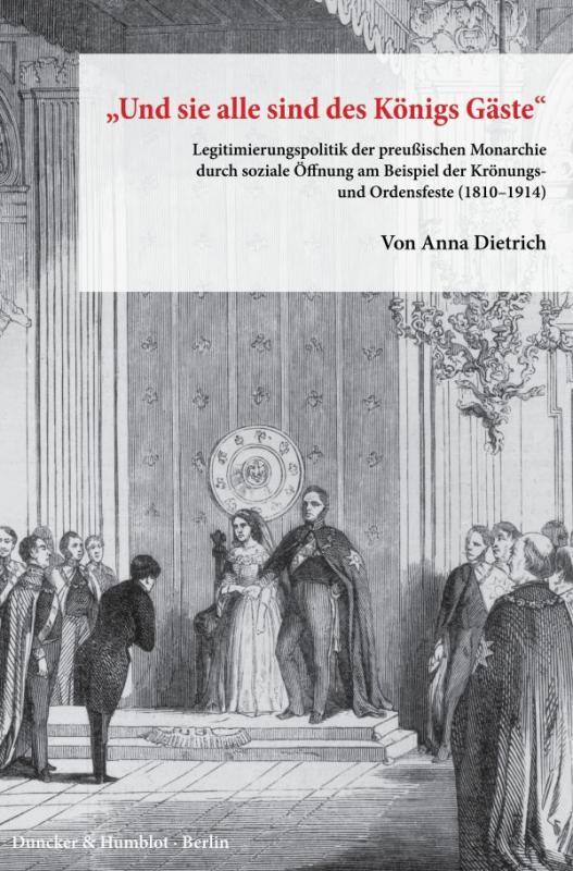 """Cover-Bild """"Und sie alle sind des Königs Gäste""""."""