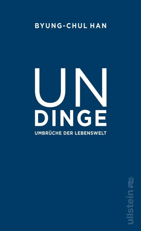 Cover-Bild Undinge
