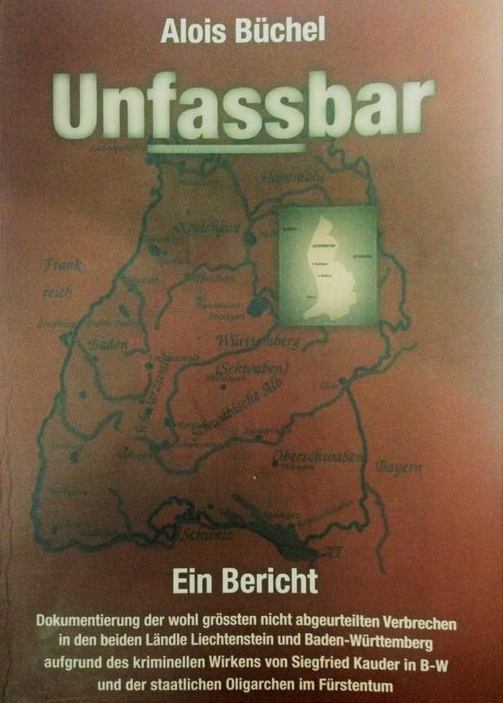 Cover-Bild UNFASSBAR - Ein Bericht