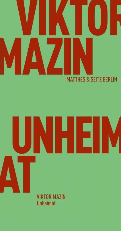 Cover-Bild Unheimat