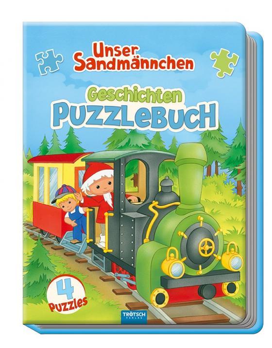 """Cover-Bild """"Unser Sandmännchen"""" Geschichten-Puzzlebuch"""