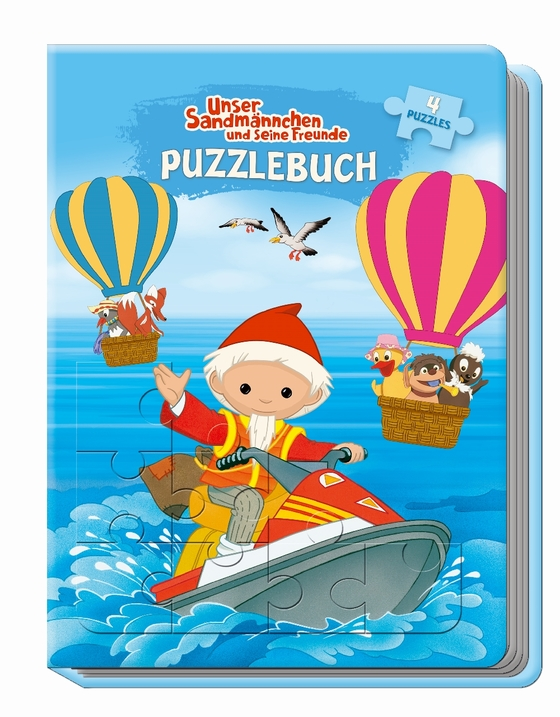 Cover-Bild Unser Sandmännchen und seine Freunde Puzzlebuch