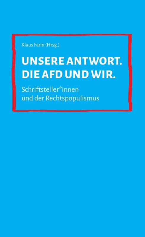 Cover-Bild Unsere Antwort. Die AfD und wir.